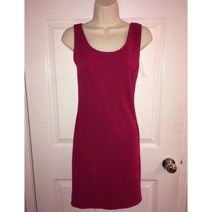 NEW Aqua Bloomingdales Magenta Bodycon Dress